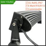 LED 20 pouces incurvé pour les voitures la barre de feux de travail de conduite