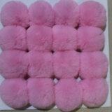 Цепь неподдельной шерсти кролика ключевая/орнаменты для шлемов & Bags&Garments