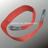 1-10 honda de elevación resistente de las correas de la tonelada con el ojo de la fábrica de China