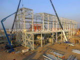 Construction préfabriquée jetée/projets de construction de structure métallique de lumière port d'usine/entrepôt/véhicule