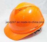 Casco di sicurezza sul lavoro di ABC un casco respirabile con la cinghia a Guangzhou