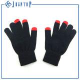 Низкая MOQ оптовой Custom вязки акриловый перчатки