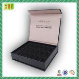 Caja de cartón de empaquetado de Magentic de la laminación mate con la insignia (modificada para requisitos particulares)