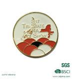 Medalha de metal personalizada do pino de lapela esmalte suave para a promoção (XD-0707-12)