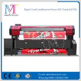 직접 잉크젯 프린터 기계를 인쇄하는 직물을%s Epson Dx7 Printheads 1.8m/3.2m 인쇄 폭 1440dpi*1440dpi 해결책을%s 가진 직물 인쇄 기계