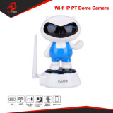 720p Dome PTZ WiFi gato da sorte rede/ IP Web Camera with Audio Video