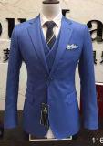 スリーピースの人のスーツのスーツの余暇のスーツの結婚式のスーツ