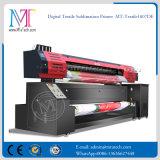A impressora Inkjet de grande formato que anuncia a impressora de matéria têxtil de Digitas