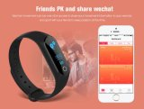 A contagem da etapa de monitor da frequência cardíaca ostenta o bracelete