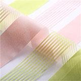Блестящей полосой ткани Organza ткани для одежды