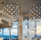 Iluminação decorativa do pendente do diodo emissor de luz do acrílico da sala de jantar (9388P)