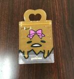 Sacchetto risigillabile della maniglia della chiusura lampo del regalo di Christma con il marchio su ordinazione
