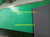 Strato costolato della gomma del pavimento di gomma antistatico nero verde ESD