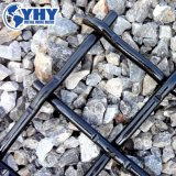 pantalla de alambre de acero de apertura de 30m m para la piedra