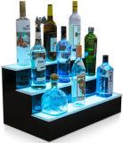 Présentoir acrylique créateur fait sur commande de bouteille de vin avec la DEL