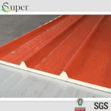 Color Steel Polyurethans Sandwich Panel for Roof and Wall