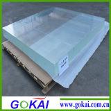 Feuille de plexiglas, en acrylique transparent de la Table ronde Haut de page