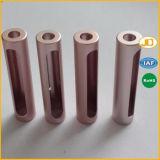 Профессиональный CNC разделяет части металла алюминиевые подвергая части механической обработке CNC подвергая механической обработке
