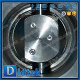 Клапан-бабочка Didtek втройне управляемая механизмом эксцентрика высокотемпературная
