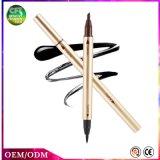 Lápiz seco rápido duradero de dos extremos del Eyeliner del maquillaje cosmético de la oferta especial
