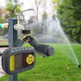 Spruzzatore dello spruzzatore del giardino con l'impianto di irrigazione delle valvole del temporizzatore 2 dell'acqua