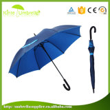 La capa interna negra externa de la alta calidad multicolora crea el paraguas para requisitos particulares recto impermeable