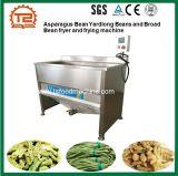 Fagioli di Yardlong del fagiolo di asparago e friggitrice della fava e macchina di frittura