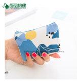 Fermeture à glissière Personnaliser cadeau promotionnel Mini Sacs Coton Coin Purse Wallet