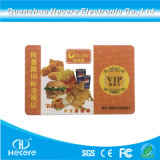 PVC impreso completo 13.56MHz ISO14443MIFARE Classic 1K de una tarjeta RFID