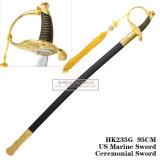Spada Commanding americana noi spada cerimoniale 95cm HK235g della spada marina