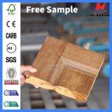 Custom HDF/MDF moulé Bubingga intérieure de porte en bois de placage (JHK-012)