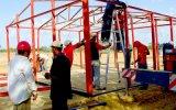 De super Geschikte Lading die van de Lage Kosten van het Ontwerp van September Moderne PrefabHuis verscheept