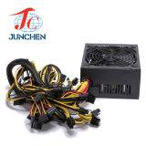 Motherboard-Tischrechner-starkes des Bergmann-1600W ATX Stromversorgung 6 Grafikkarte P.S.