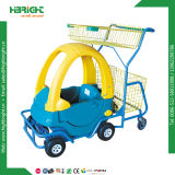 Caddies colorés d'enfant/chariot de achat gosses drôles de supermarché/épicerie
