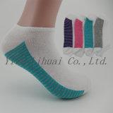 Diseño de moda de la mujer no muestran el tobillo calcetines de algodón de corte bajo