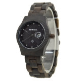 2018 Señoras la moda de alta calidad Relojes de Pulsera Reloj de madera de bambú de los hombres