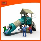 Mich enfants Parc de loisirs de l'équipement de terrain de jeux de plein air avec la diapositive