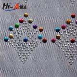 Vario trasferimento di Hotfix del Rhinestone di colori di marchio su ordine della stampa