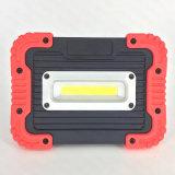 Пластиковый USB аккумулятор початков 10W светодиодный индикатор работы с Банком (WL-1065)