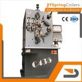 YFSpring Coilers C435 - диаметр провода 1,20 - 3,50 мм 4 Сервомеханизмы - пружины с ЧПУ станок