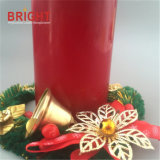 Red Tall Traditional Aromatic Pillar Candle for Gift