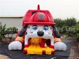 新しいデザイン! 販売のための巨大で膨脹可能な犬のベッドか膨脹可能な警備員のスライド