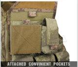 nylon 1000d ou veste tática militar de Cordura com caça ao ar livre do padrão de ISO