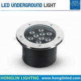 Im Freien Tiefbaulampe des LED-Fußboden-Licht-9W IP65