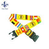 Travel Suitcase Customized Imprimé Strap Polyester Luggage Ceinture