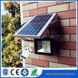 Im Freien Flutlicht-Solarflut-Licht 10W 20W 30W 40W 50W der Sonnenenergie-LED
