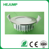 Altra delgada de aluminio de fundición atenuable IP20 Downlight LED plana