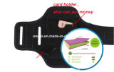 Gym Fitness ventana clara Brazalete celular Sportband Bolsa de brazo móvil