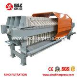 El filtro automático de gran capacidad de la máquina de prensa con el rápido de abrir el dispositivo