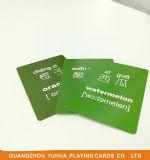 Fabricante a dos caras Yh68 de las tarjetas educativas de papel respetuosas del medio ambiente